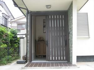 吉田邸玄関完成2_R